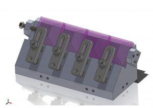 加工治具設計モデル 3次元CAD