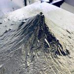 アルミ合金を加工して「富士山」製作!