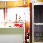 羽毛待機室の製作